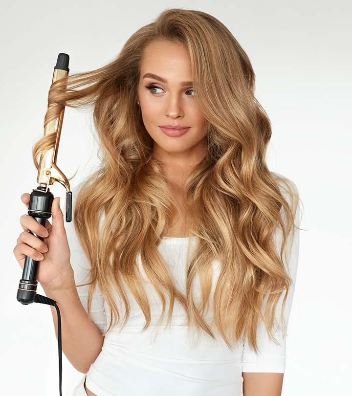 Hair curlers for long hair
